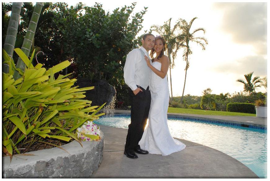 hawaii simple beach wedding
